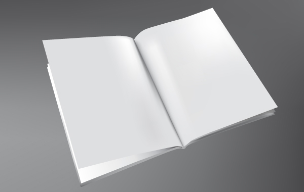 3D Brochure Template Free Vector