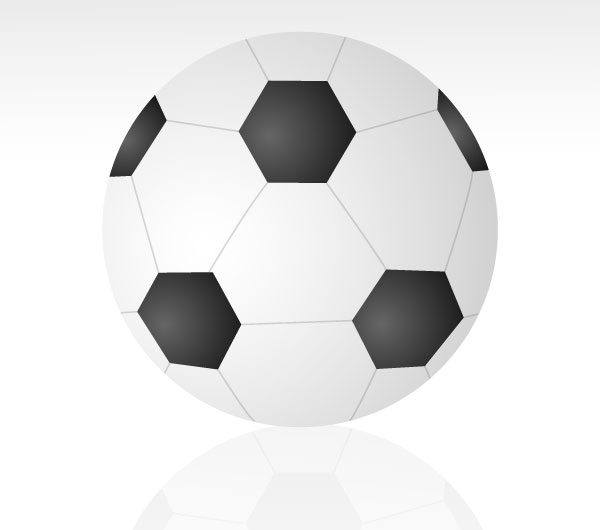 Free Vector Soccer Ball Image