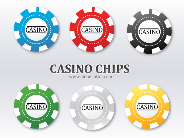Free Vector Poker Chips