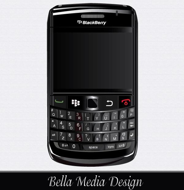 BlackBerry Bold 9700 Vector