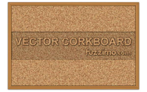 Vector Cork Board