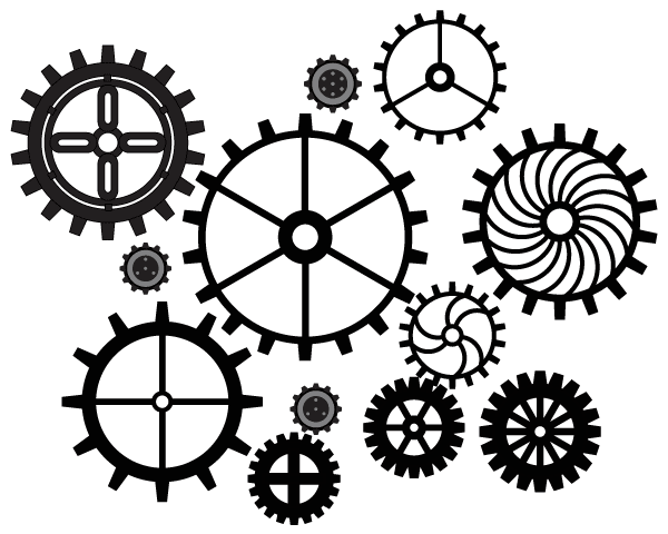 Vector Art Gears