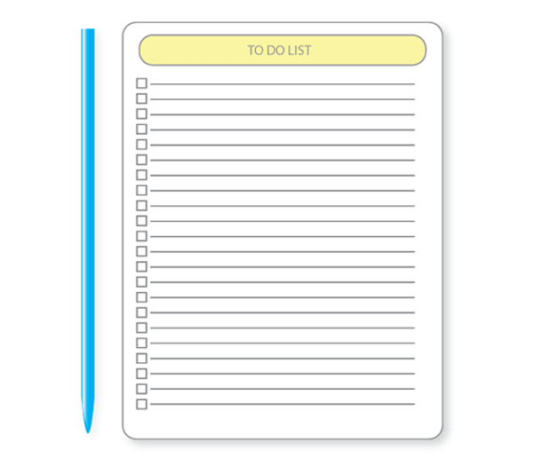 To Do List Vector Graphics