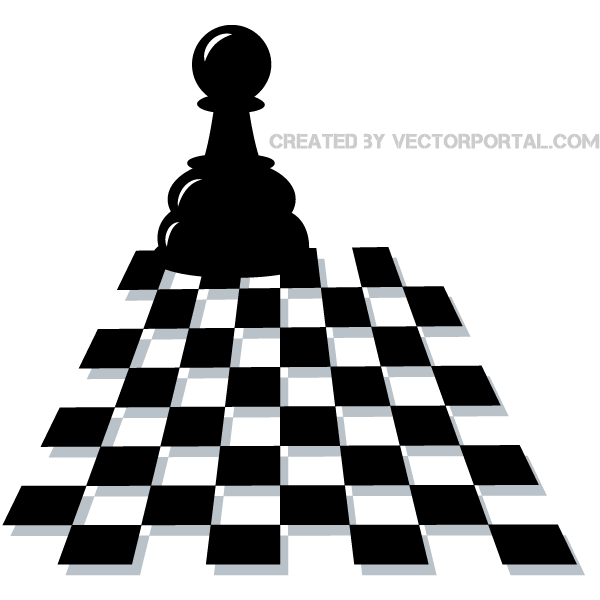 Vector Chess Pawn   Download Free Vector Art   Free-Vectors