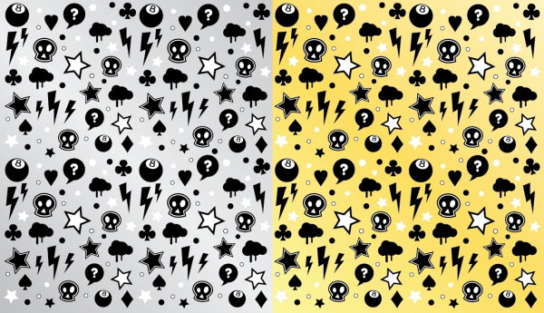 Punk Rock Pattern Download Free Vector Art Free Vectors