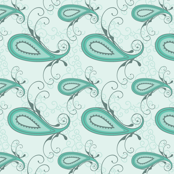 Free Paisley Seamless Pattern Vector | Download Free Vector