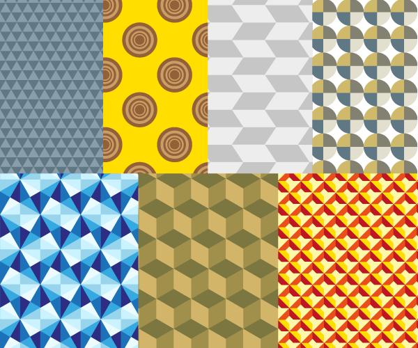 Geometric Pattern Vector Illustration Download Free
