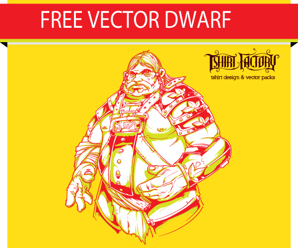 Free Vector Download – Dwarf