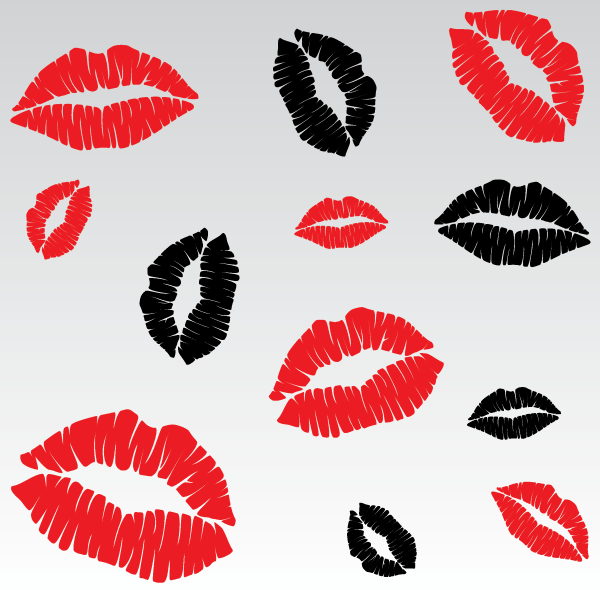 Vector Lip Kiss Images