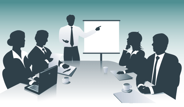 Business Presentation Illustration