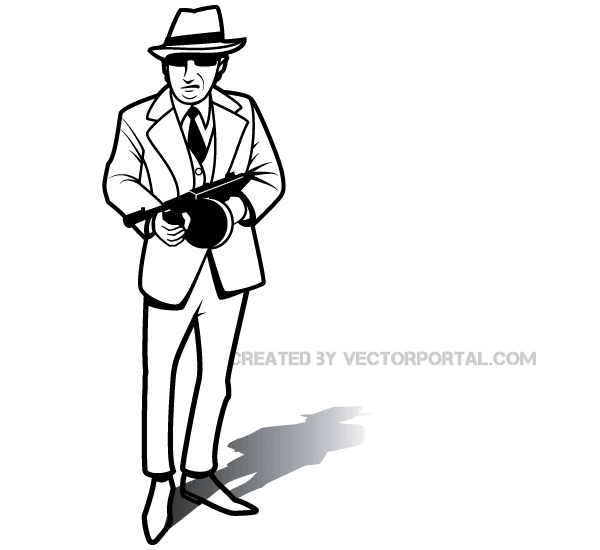 Gangster Vector
