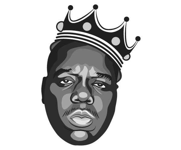 Notorious Big Vector Image