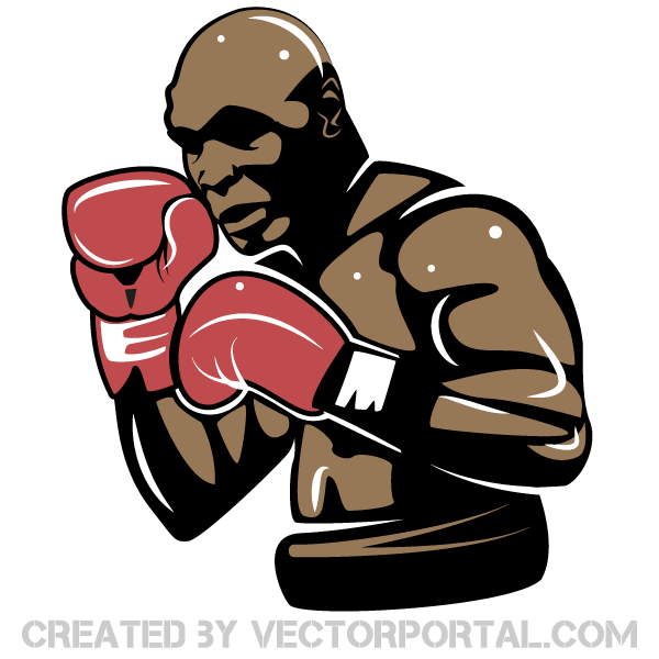 Mike Tyson Vector Image