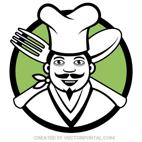 chef clip art image download free vector art free vectors rh free vectors com