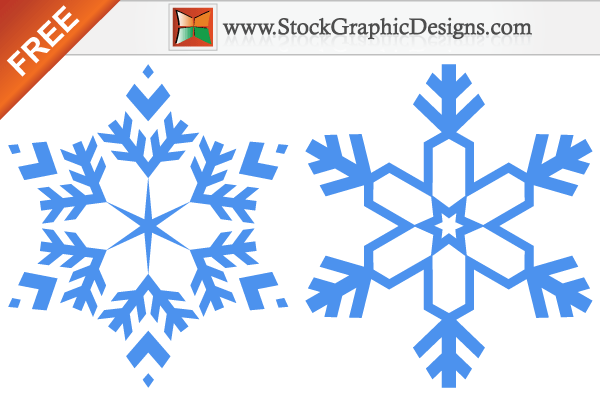 snowflakes free vector graphic images