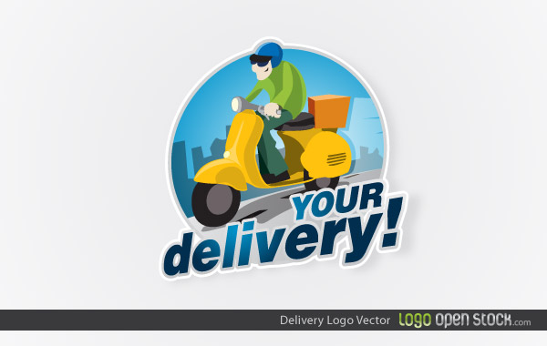 Delivery logo design download free vector art free vectors for Style at home subscription deal