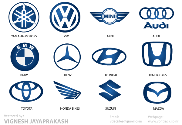 Free Automotive Logos Vector