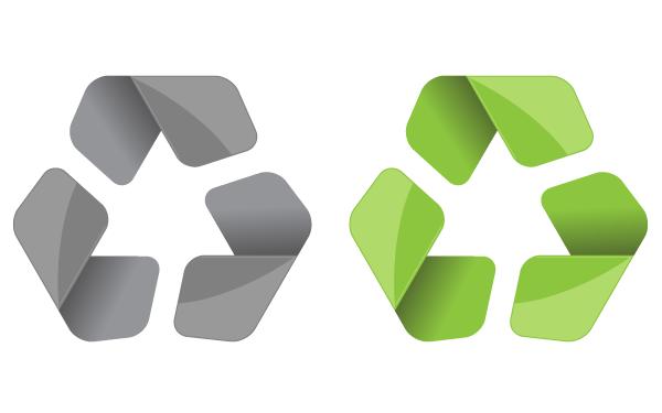 Free Vector Recycling Symbol Download Free Vector Art Free Vectors