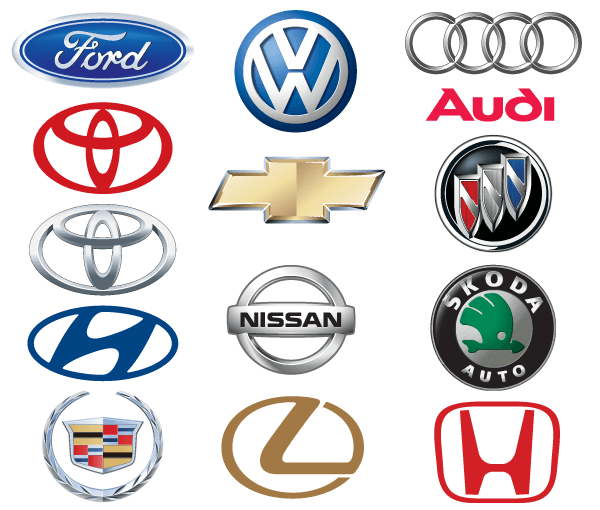 Vector Famous Car Brand Logo Design  Download Free Vector Art  FreeVectors