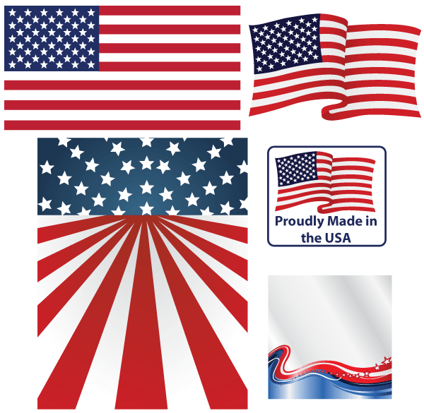 Vector American Flag | Download Free Vector Art | Free-Vectors