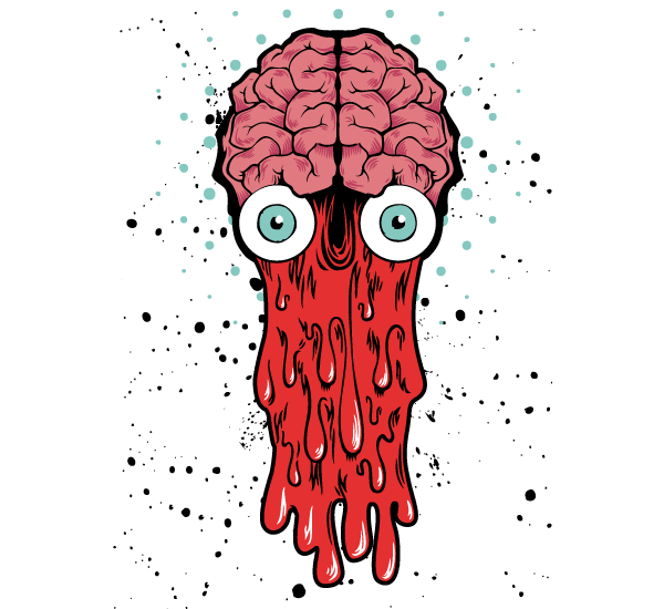 Bad Brain – Vector T-shirt Design