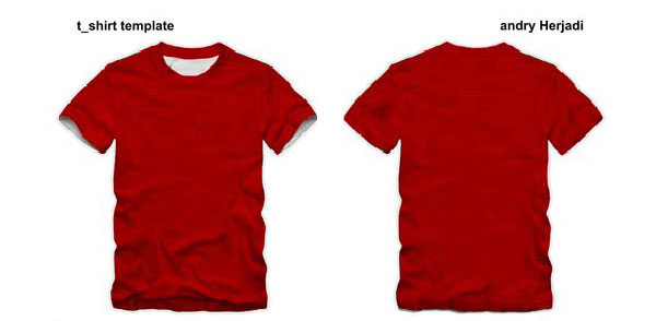 Vector Tshirt Template | Download Free Vector Art | Free-Vectors