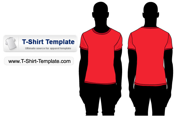 Free Vector Tshirt Template