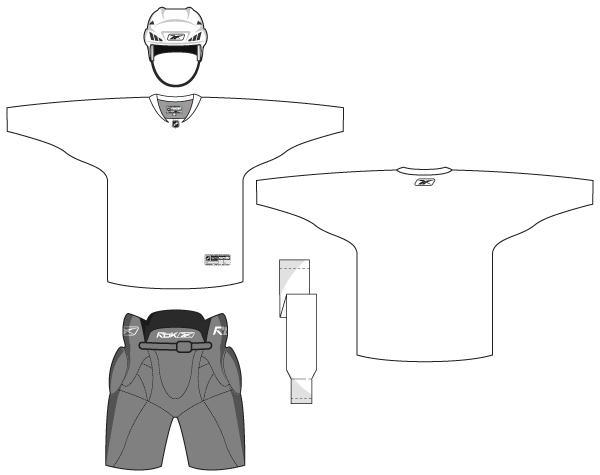 Hockey Uniform Template Free Vector Download Free Vector Art