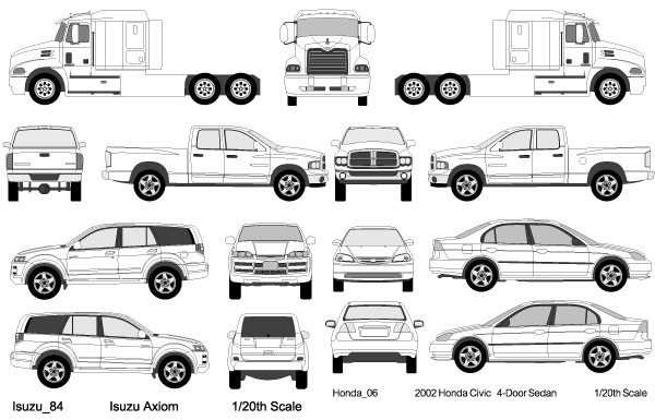vehicle templates free download thevillas co