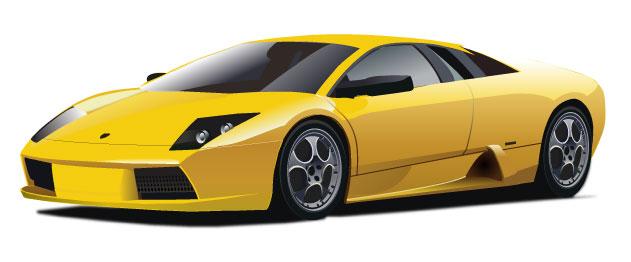Lamborghini In Vector Download Free Vector Art Free Vectors