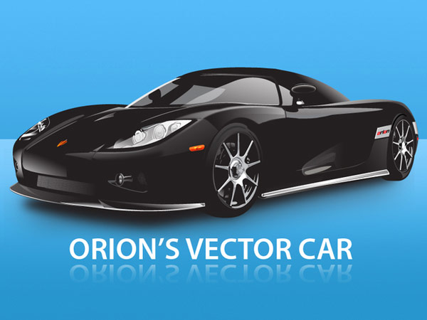 Race Car Vector Free