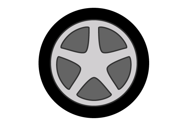 Vector Car Wheel Download Free Art Free Vectors