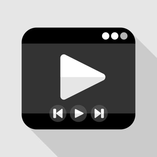 Media Player Flat Icon