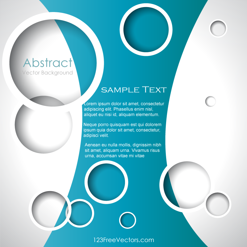 Circle Background Illustrator Template | Download Free Vector Art ...