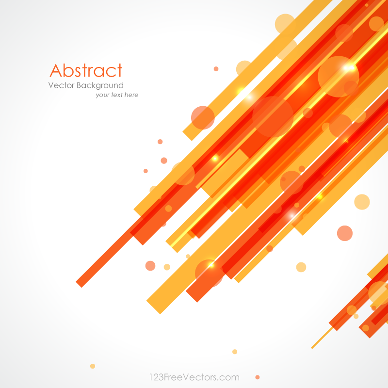 Graphic Design With Lines : Orange yellow lines background vector download free