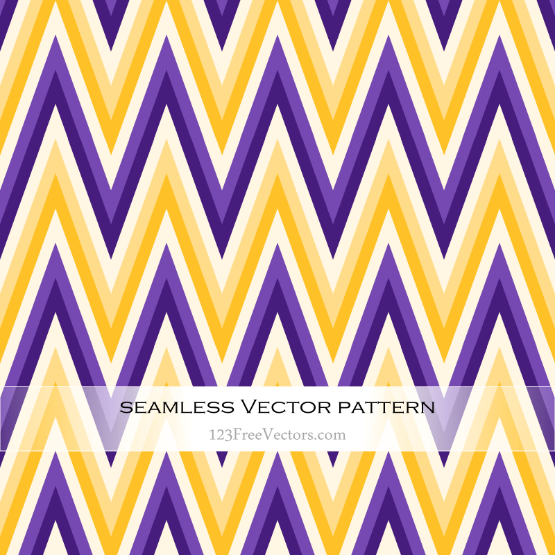Yellow and Violet Zigzag Pattern Background | Download Free