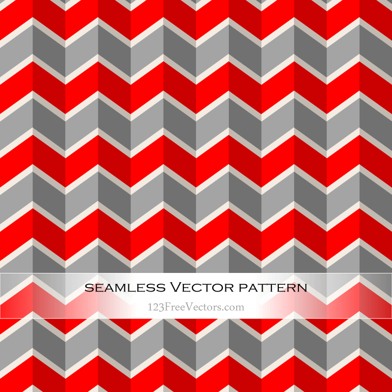 Red and Grey Chevron Pattern Background