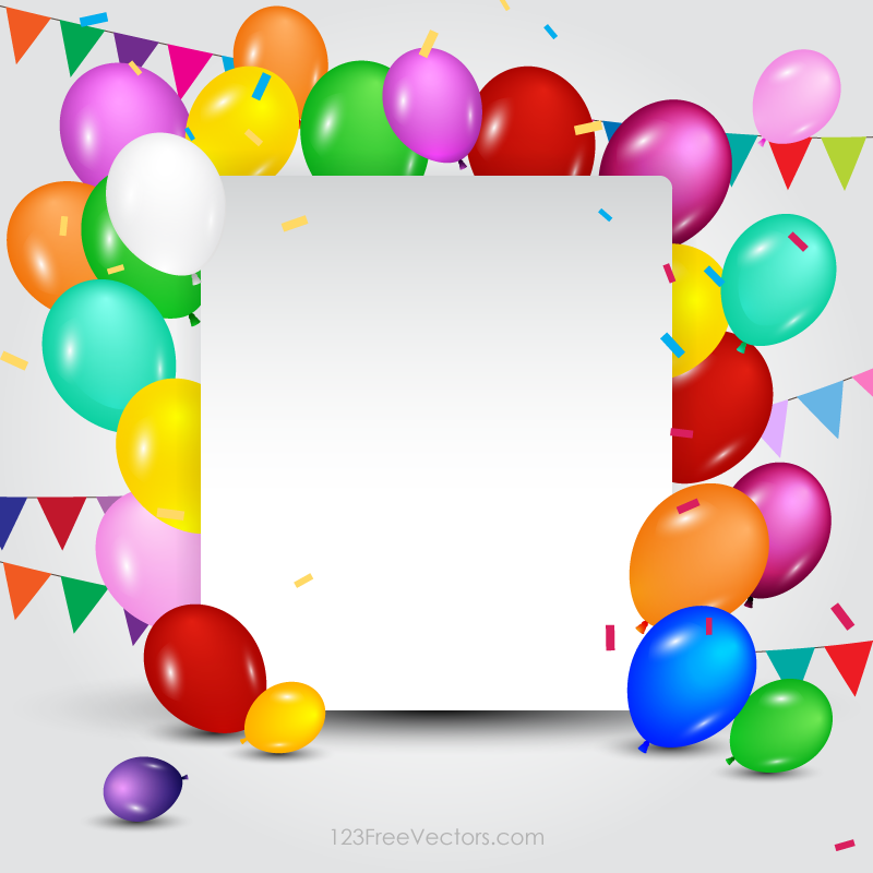 Birthday Card Templates | Happy Birthday Card Template Download Free Vector Art Free Vectors