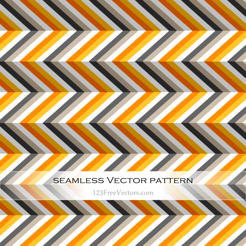 Zigzag Pattern Background Vector