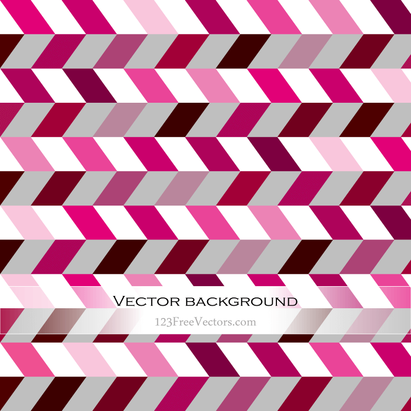 Pink Zig Zag Background
