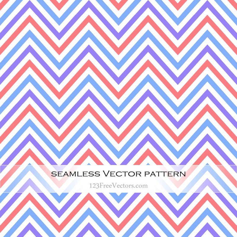 Colorful Chevron Pattern Wallpaper