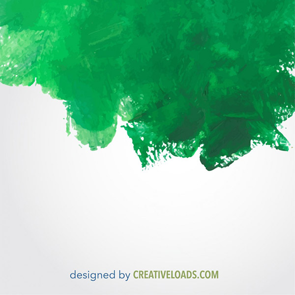 Watercolor Vector Background Free